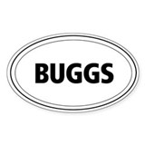 Buggs Oval Decal
