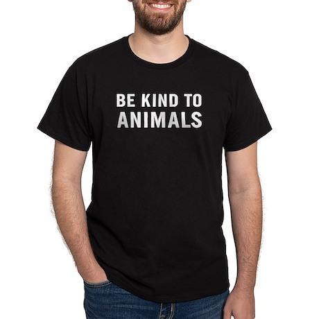Be Kind Animals Dark T-Shirt