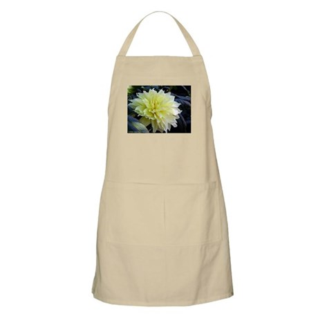 the Yellow Dahlia BBQ Apron