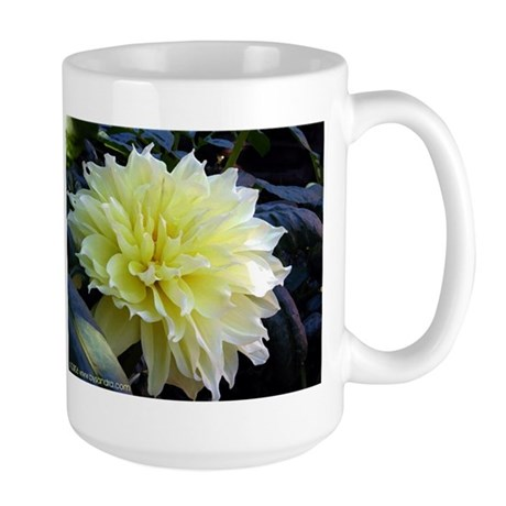 the Yellow Dahlia Large Mug