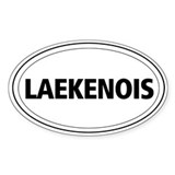 Laekenois Oval Decal