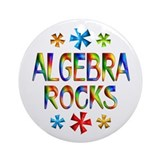 Algebra Ornament (Round)