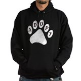 Animal Adoption Paw Hoodie