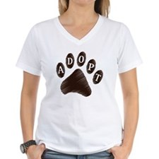 Animal Adoption Paw Shirt