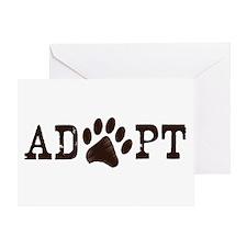 Adopt an Animal Greeting Card