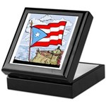 Keepsake Box-Bandera