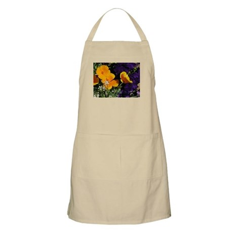 Poppy Bouquet BBQ Apron