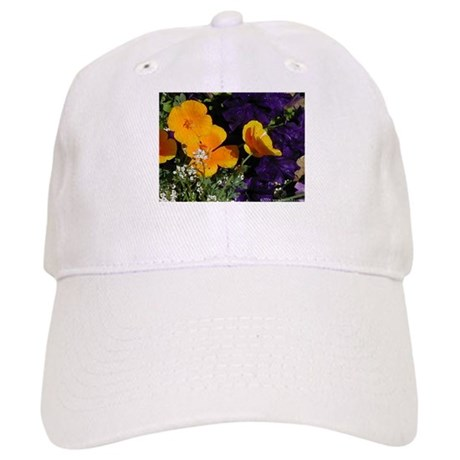 Poppy Bouquet Cap