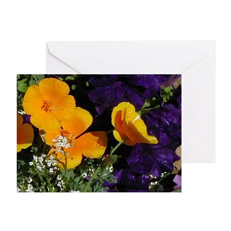 Poppy Bouquet Greeting Cards (Pk of 10)