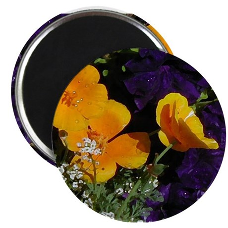 Poppy Bouquet Magnet