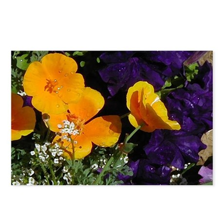 Poppy Bouquet Postcards (Package of 8)
