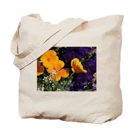 Poppy Bouquet Tote Bag