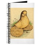 Muffed Tumbler Pigeon Journal