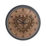Cute Cartoon heart Wall Clock