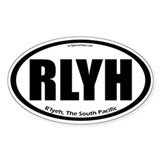 R'lyeh auto badge Lovecraft Decal