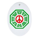 Dharma Peace Ornament (Oval)