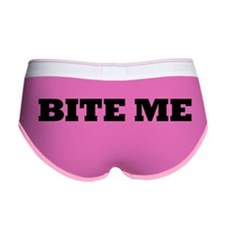 Bite Me Women's Boy Brief