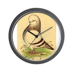 Tumbler CL Barred Pigeon Wall Clock