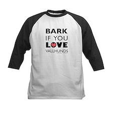 Bark if You Love Vallhunds Tee