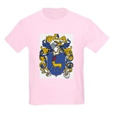 Strahan Coat of Arms Kids T-Shirt