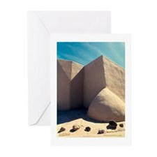 Rancho Taos Church Greeting Cards (Pk of 10)