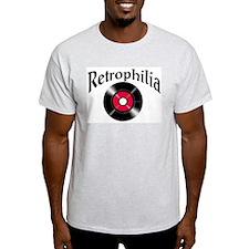 Retrophilia Ash Grey T-Shirt
