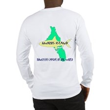 Andros Island Bonefish Logo Long Sleeve T-Shirt