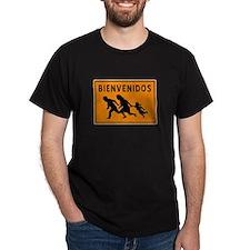 Bienvenidos Black T-Shirt