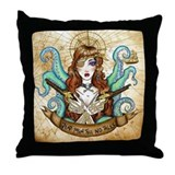 Pirate Wench Throw Pillow