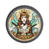 Pirate Wench Wall Clock