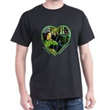 Judy's Phantom Friend Black T-Shirt