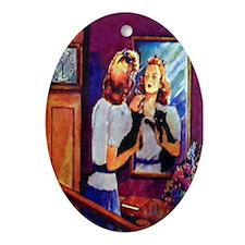 Mirror Keepsake (Oval)