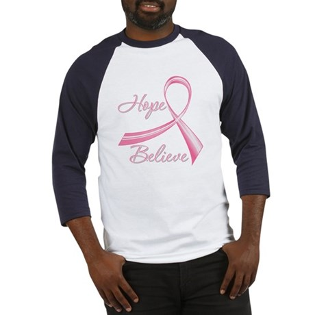 Breast Cancer HopeBelieve Baseball Jersey
