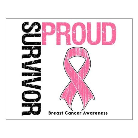 BreastCancer ProudSurvivor Small Poster