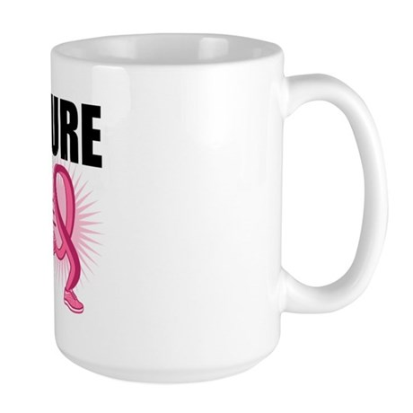 RunForACure BreastCancer Large Mug