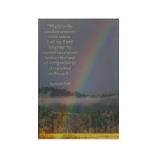 Bible Verse (Genesis 9:16) Rectangle Magnet