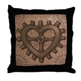 Gearheart Throw Pillow