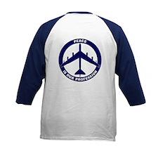 B-52G Peace Sign Kid's Baseball Jersey