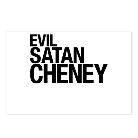 Evil > Satan > Cheney Postcards (Package of 8)