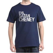 Evil > Satan > Cheney Black T-Shirt