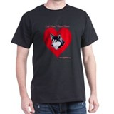 Valentine  Black T-Shirt