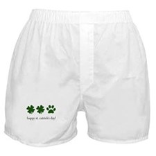 happy st. catrick's day! Boxer Shorts