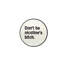 Cute Quit smoking Mini Button (10 pack)