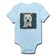 West Highland White Terrier Infant Creeper