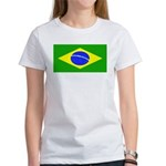 Brazil Blank Flag Women's T-Shirt