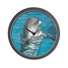 Cute Dolphins Wall Clock