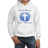 Christian 70th Birthday Jumper Hoody