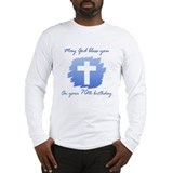 Christian 70th Birthday Long Sleeve T-Shirt