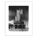 Tower Theatre Small Poster