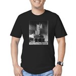Tower Theatre Men's Fitted T-Shirt (dark)